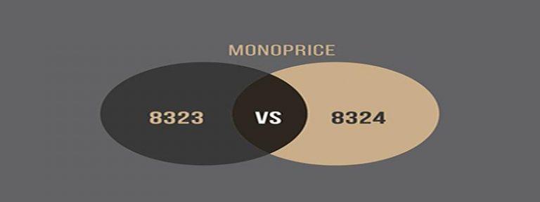 Monoprice 8323 vs 8324