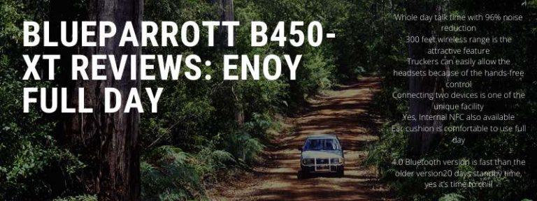 Blueparrott-B450-XT