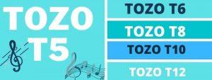 TOZO T5 vs TOZO T6 vs TOZO T8 vs T10 vs T12